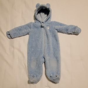 Carter's one piece baby warm suit
